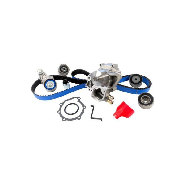 gates tckwp328crb racing timing belt component kit w