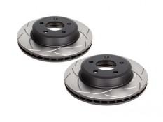 DBA T2 Slotted Front Brake Rotors