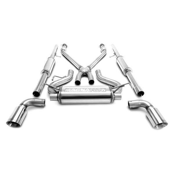 magnaflow 16820 catback exhaust system infiniti g37 coupe