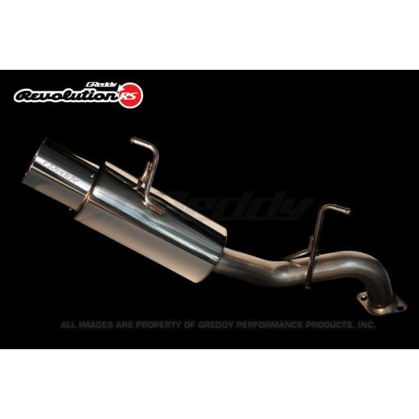 Greddy Turbo Parts: Greddy 10138101 Revolution RS Exhaust System Mitsubishi
