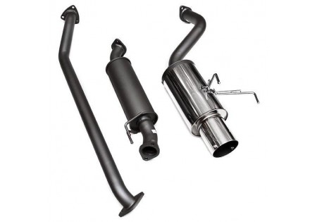 HKS BH HiPower Exhaust System Acura RSX TypeS - Acura rsx type s exhaust
