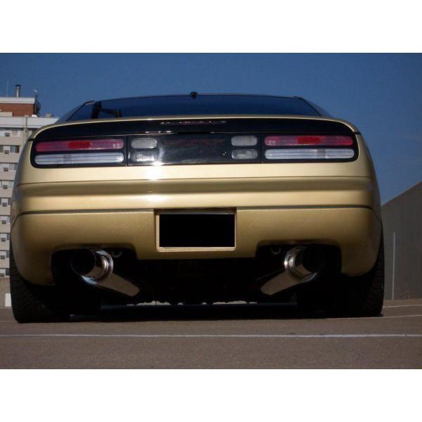 300zx Turbo Shiro Special: HKS 3106-EX003 Hi-Power Exhaust System Nissan 300ZX Turbo