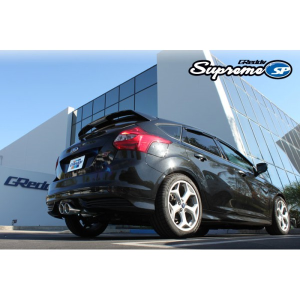 greddy 10148203 supreme sp exhaust system ford focus st 13 16. Black Bedroom Furniture Sets. Home Design Ideas
